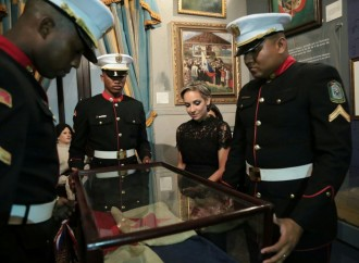 Pabellón Nacional custodiado por el INAC engalana desfile de antorchas