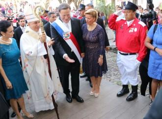 Presidente Varela y su equipo de Gobierno encabezan actos del 3 de Noviembre en honor a la Patria