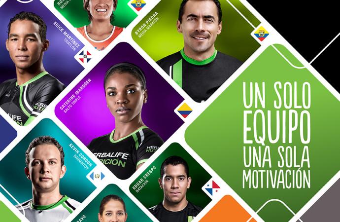 El Team Herbalife presente en el torneo deportivo más importante de la región bolivariana