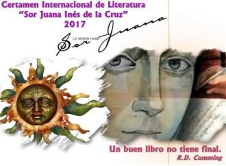 """México convoca al IX certamen Internacional de Literatura """"Sor Juan Inés de la Cruz 2017"""""""