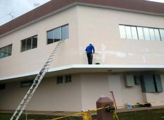 Realizan trabajos de mantenimiento y mejoras del Hospital Irma De Lourdes Tzanetatos