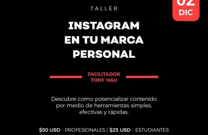 FCdS promueve el Taller: Instagram en tu marca personal