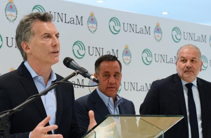 Macri: Estamos enfocando hacia el lugar donde vienen los trabajos del futuro