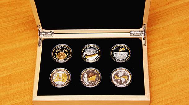 Hoy circulan Monedas conmemorativas al Centenario y ampliación del Canal de Panamá