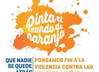 Unidos a la campaña naranja: No a la violencia contra la mujer