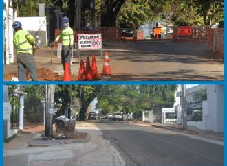 Proyecto de Soterramiento de Cablesinicia trabajos en Avenida FedericoBoyd