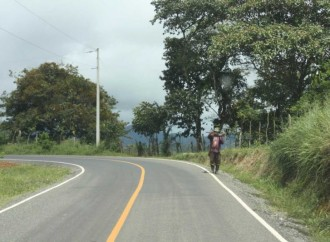MOP concluye trabajos de rehabilitación de la carretera CPA – Lajero en la Comarca Ngäbe Buglé