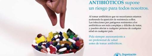 Mañana finaliza la Semana Mundial de Concienciación sobre el uso de los Antibióticos 2017