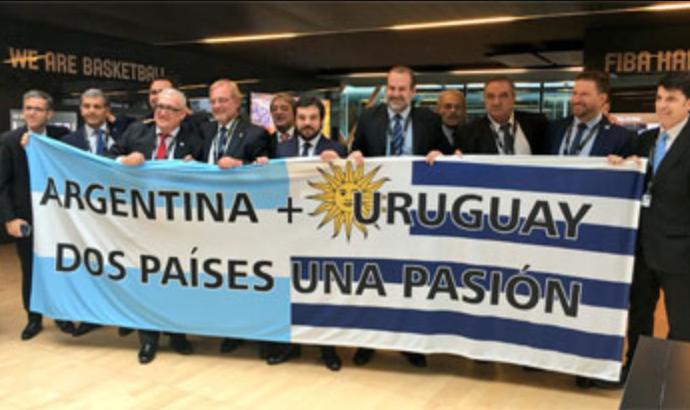Uruguay y Argentina contarán con la posibilidad de organizar la Copa Mundial de Basquetbol de 2027