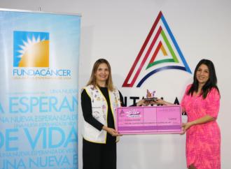 AltaPlaza Mall entrega donación a FundaCáncer