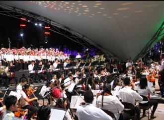 Con gran éxito iniciaron conciertos de Navidad Sinfónica en el Parque Urracá