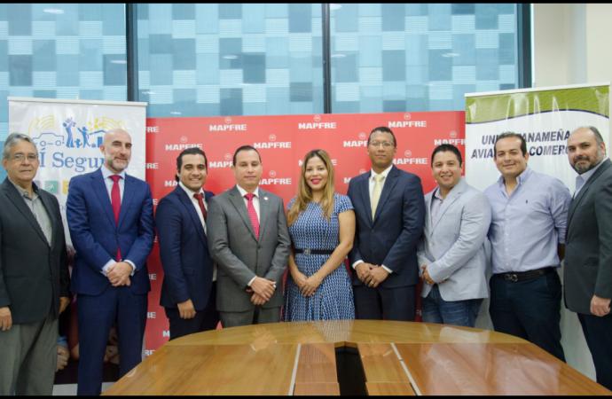 MAPFRE PANAMÁ firma acuerdo con UNPAC para cobertura de seguro
