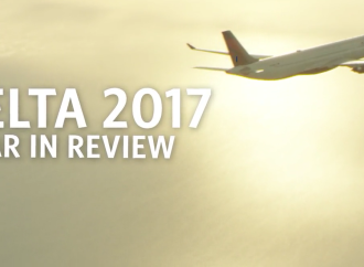 El equipo de Delta propulsó el sólido rendimiento de la aerolínea en 2017