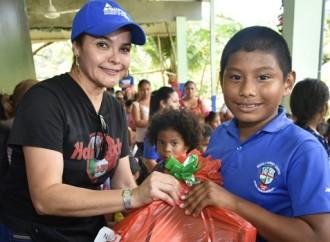 """Voluntariado Gubernamental realizóDuodécima jornada bajo ellema """"Fiesta de Navidad"""""""