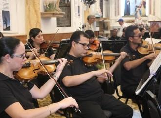 Exitoso concierto de Navidad de la OSN para los del interior del país