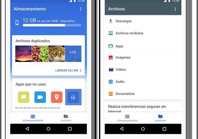 Descubre Files Go, una forma más rápida de liberar espacio, encontrar archivos en tu teléfono y compartirlos