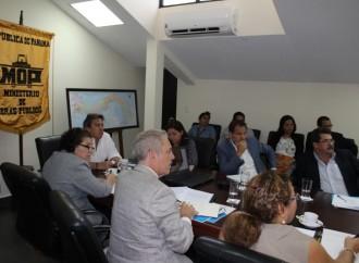 Autoridades evalúan avances del puente Binacional entreCosta Rica y Panamá
