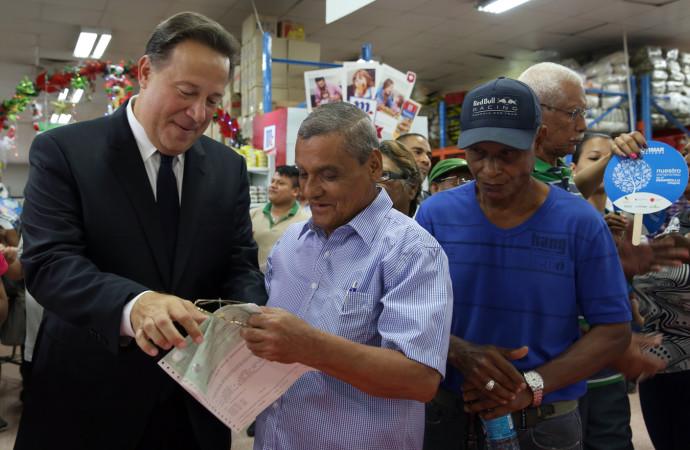 120 mil panameños a nivel nacional empezaron a cobrar el beneficio del Cepadem