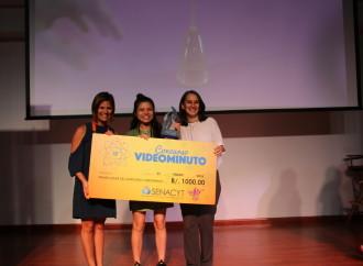 """La SENACYT y la Fundación Casa del Cine premian a los ganadores del Concurso Videominuto """"Arte en la Ciencia y Ciencia en la Vida Diaria"""""""