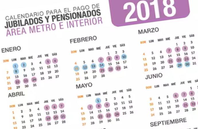 CSS publicó Calendario de Pago 2018 para Jubilados y Pensionados