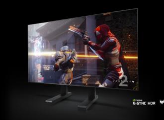 Acer presenta su pantalla gaming de formato grande Predator, de 65 pulgadas y con NVIDIA G-SYNC