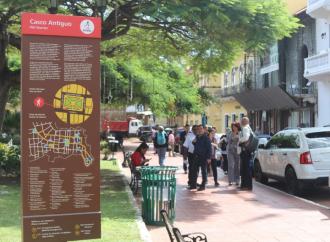 La ATP inaugura señalización turística en el Casco Antiguo de la ciudad capital