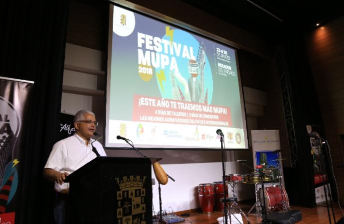 Anuncian los artistas que participarán en la Cuarta Edición del Festival MUPA 2018
