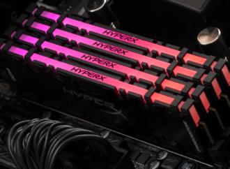 HyperX presenta la primera memoria DDR4 RGB sincronizada por infrarrojos del mundo