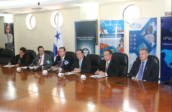 MICI en alianza con la Cámara de Comercio realizarán realizarán primera rueda de negocios nacional de Expocomer 2018
