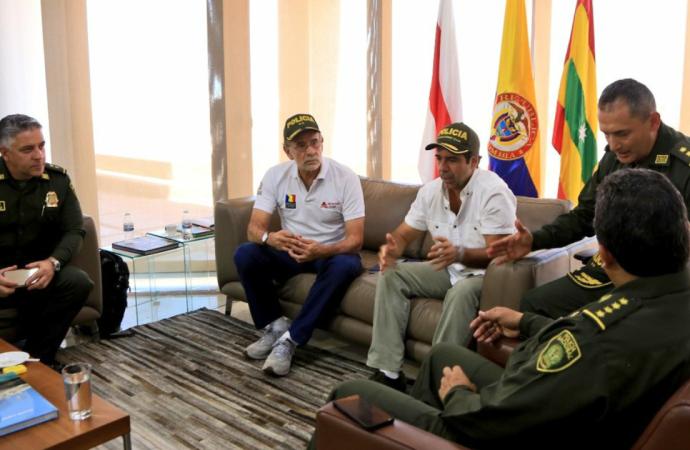 Presidente Santos condenó atentado contra estación de Policía en Barranquilla