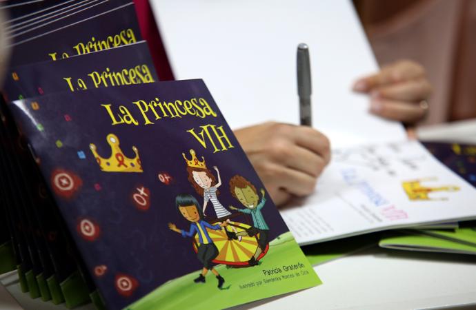 La Princesa VIH: un cuento infantil para erradicar el estigma y la discriminación