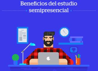 Estudios semipresenciales para estudiar y trabajar a la vez