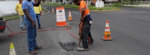MOP coordina trabajos de reparación de daño en vía principal de Chanis