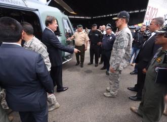 Gobiernofortalece lucha contra el narcotráfico y ayuda humanitaria con nuevas aeronaves