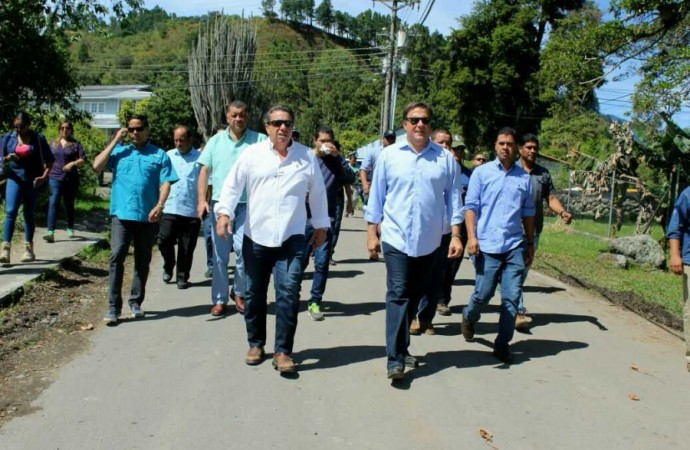 Autoridades recorren diversos proyectos de infraestructura en la provincia de Chiriquí