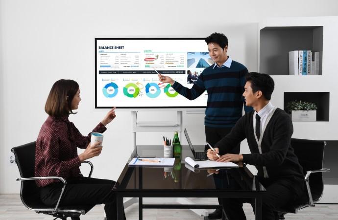 Samsung transforma la sala de reuniones moderna con el Flip, el nuevo tablero interactivo