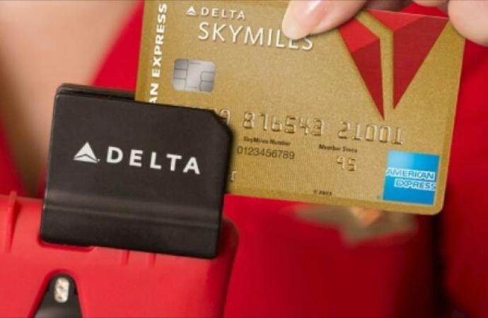 Delta y American Express agregan un millón de nuevos tarjetahabientes en 2017