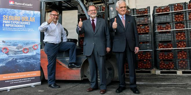 Ministerio de Economía de Chile y BancoEstado presentaron Seguro Dólar para reducir riesgos cambiarios a pymes exportadoras