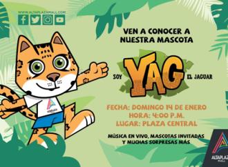 Ven a conocer a la mascota YAG el Jaguar en AltaPlaza Mall
