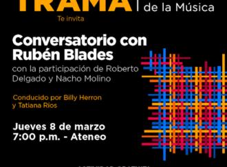 TRAMA: Industria de la Música invita al Conversatorio con Rubén Blades