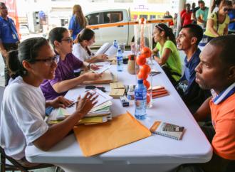 Exitoso reclutamiento de personal para sector portuario en La Chorrera