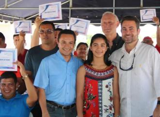 Más de 175 personas beneficiadas con Bono Solidario de Vivienda en laProvincia de Chiriquí