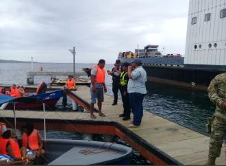La AMP extiende hasta el jueves 22, elaviso preventivo de zarpe para el sector del Caribe panameño