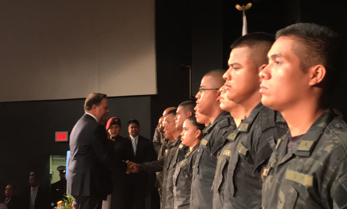 Presidente Varela destaca profesionalización del SPI en ceremonia de ascensos