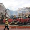 Familias afectadas por incendio reciben respuesta de autoridades locales