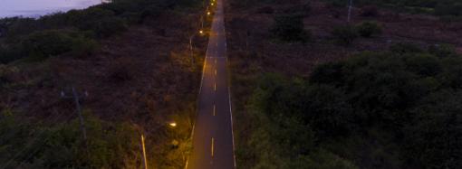 Culmina proyecto de alumbrado hacía Punta Chame