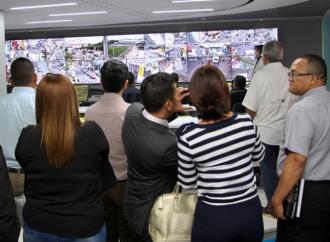 Alcalde Blandón promuevela participación de la empresa privada en el programa de Videovigilancia municipal