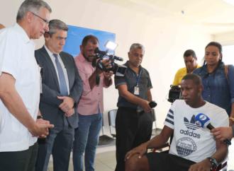 Minsa y CSS coordinan rehabilitación del futbolista de Alianza F.C Fidel Caesar en Hospital Hogar de La Esperanza