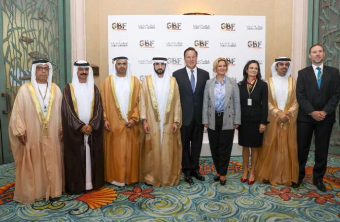 Presidente Varela y Ministros de Estado promueven Panamá en Foro Global de Negocios sobre Latinoamérica en los Emiratos Árabes Unidos