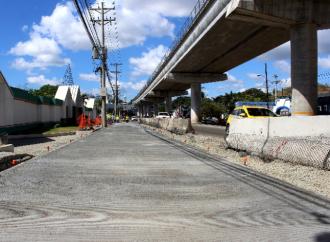 Continúarehabilitación de carretera Transístmica tramo: PlazaÁgora – Estación de San Isidro